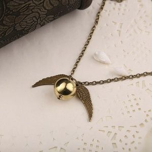 Steampunk Angel Wing Necklace